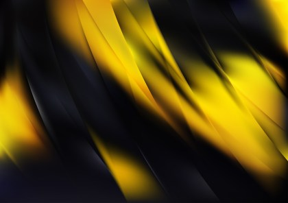 Abstract Shiny Cool Yellow Background
