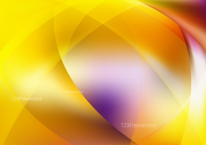 Shiny Abstract Purple Yellow and White Background Graphic