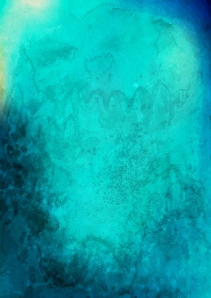 Blue Grunge Watercolour Texture Background Image