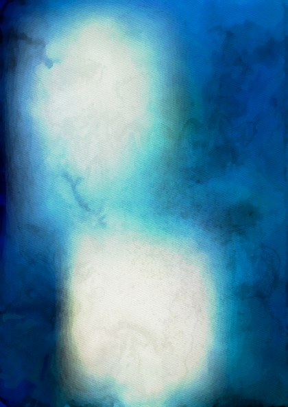 Blue and Beige Watercolor Texture Background Image