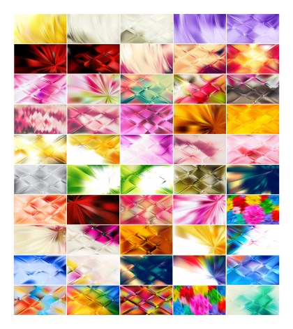 50 Abstract Background Illustrator Pack
