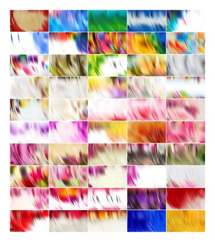 50 Abstract Background Vector Designs Pack