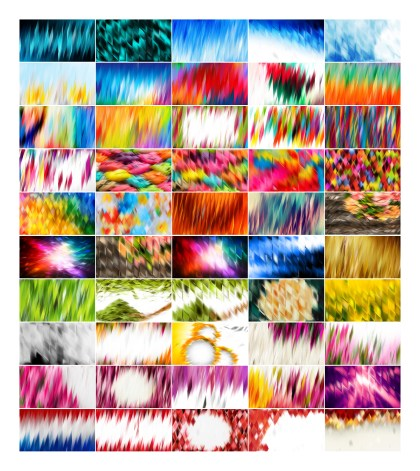 50 Abstract Background Vector Images Pack