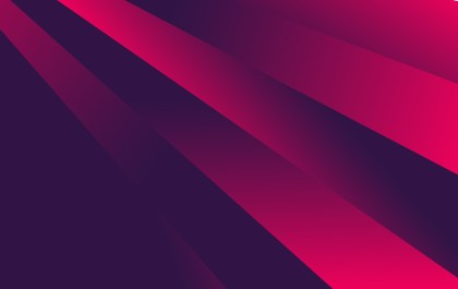 Abstract Dark Pink Fluid Color Shapes Composition Background