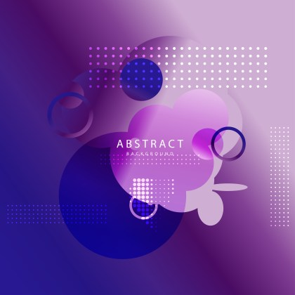 Blue and Purple Fluid Liquid Color Abstract Modern Geometric Background