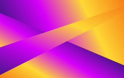 Purple and Orange Fluid Liquid Color Abstract Geometric Background