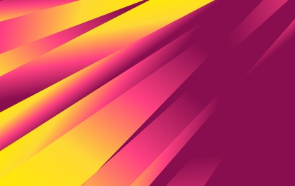 Abstract Purple and Yellow Liquid Geometric Poster Background Design