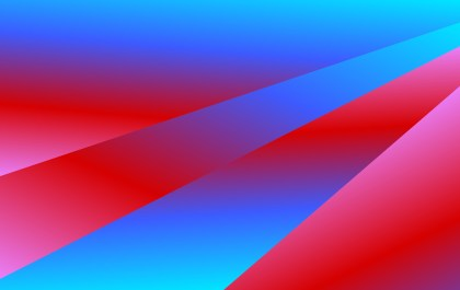 Abstract Red and Blue Fluid Color Shapes Composition Background Illustrator