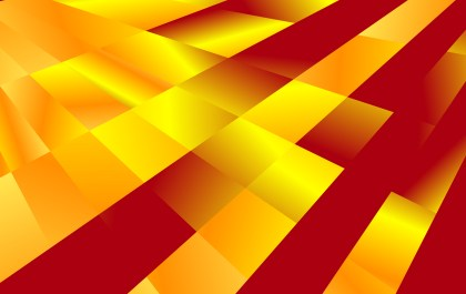 Abstract Red and Orange Liquid Color Geometric Background Image