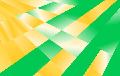Abstract Green Yellow and White Gradient Fluid Shapes Futuristic Geometric Background Design