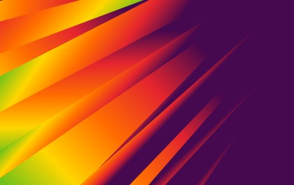 Abstract Green Red and Purple Fluid Gradient Geometric Background