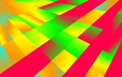 Abstract Pink Green and Yellow Liquid Color Geometric Background Graphic