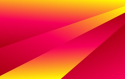 Abstract Pink Red and Yellow Fluid Gradient Shapes Composition Futuristic Design Background