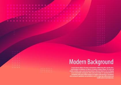 Abstract Dark Pink Wavy Fluid Gradient Color Background