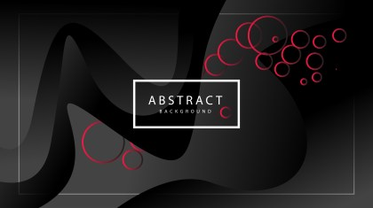 Abstract Fluid Red and Black Gradient Wavy Background Illustrator
