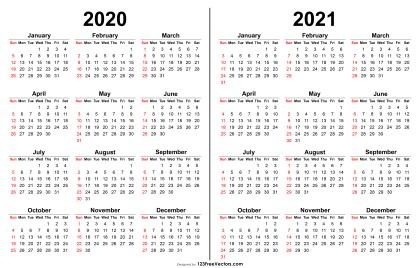 210 2020 Calendar Vectors Download Free Vector Art Graphics 123freevectors