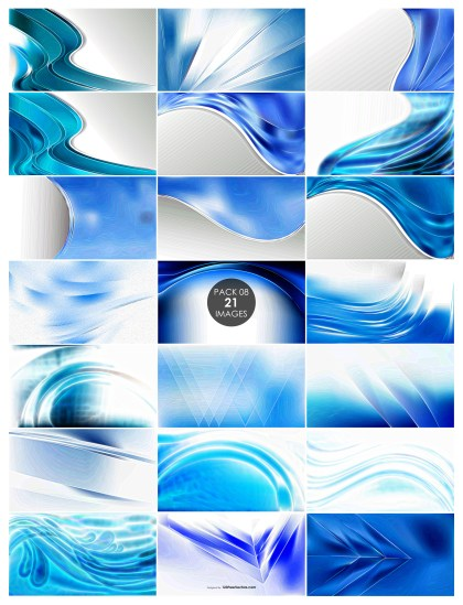 21 Blue and White Texture Background Pack 08
