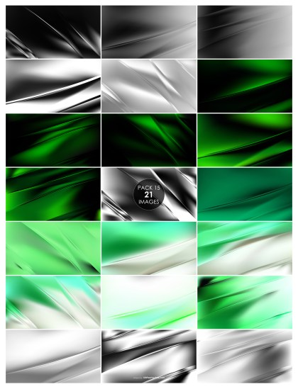 21 Green and Grey Diagonal Shiny Lines Background Pack 15