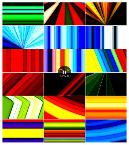 18 Abstract Colorful Background Pack 20