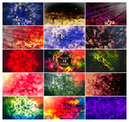 15 Quarter Circles Background Pack 01