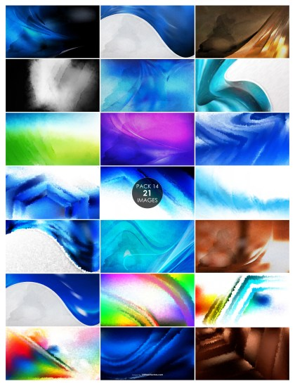 21 Watercolor Texture Background Pack 14