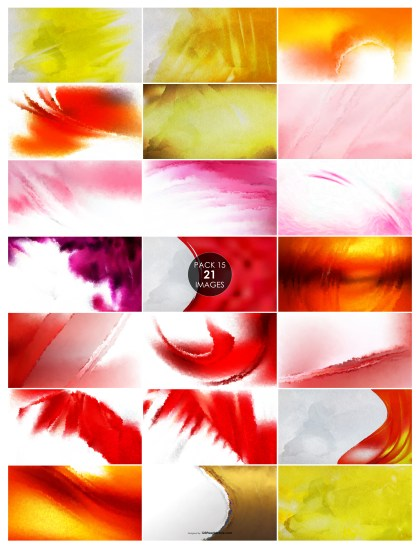 21 Watercolor Texture Pack 15