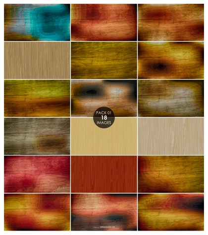 18 Wood Background Pack 01