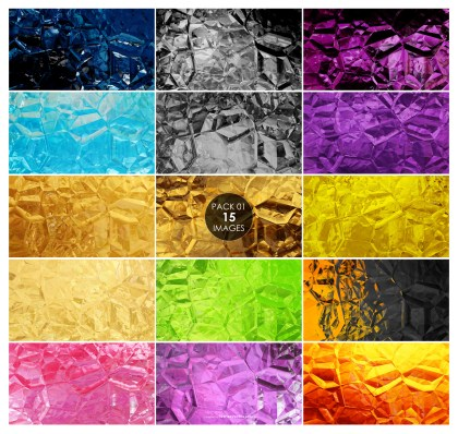 15 Crystal Background Pack 01