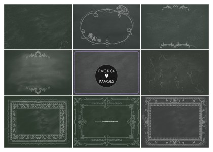 9 Blackboard Background Pack 04