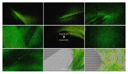 9 Green Texture Background Pack 07