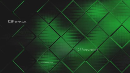 Green and Black Square Background Design