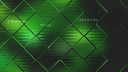 Abstract Green and Black Square Background Graphic