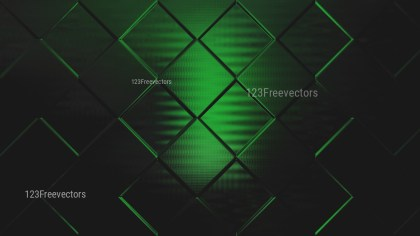 Green and Black Square Background