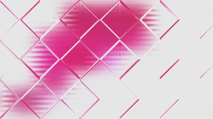 Abstract Pink and Grey Geometric Square Background Design