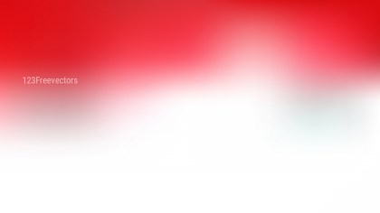 Red and White Simple Background Design