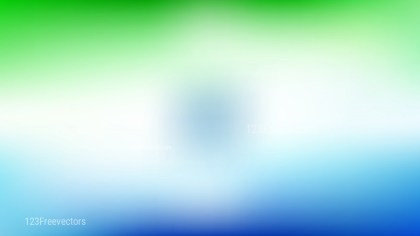 Blue Green and White PPT Background Design