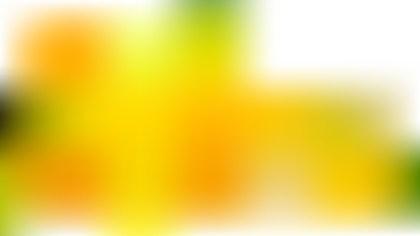 Orange White and Green Presentation Background Image