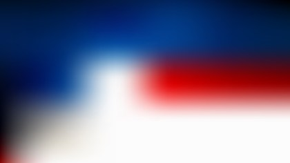 Red White and Blue Simple Background Design
