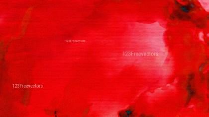 Bright Red Aquarelle Texture Image
