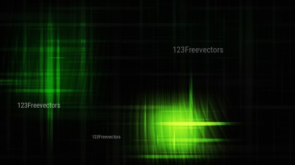 Futuristic Glowing Green and Black Light Lines Stripes Background