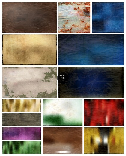 15 Vintage Grunge Background Pack 01