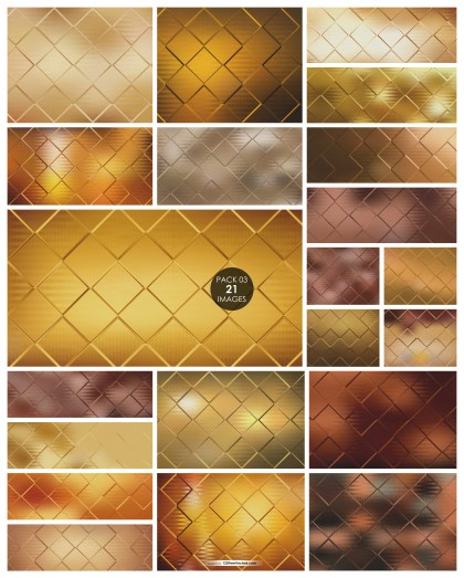 21 Brown Square Background Pack 03