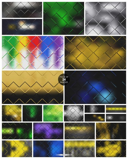 24 Square Background Pack 09
