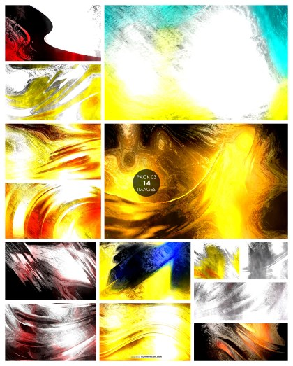 14 Paint Texture Background Pack 03