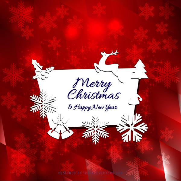 merry christmas and happy new year greeting card template happy new year greeting card template