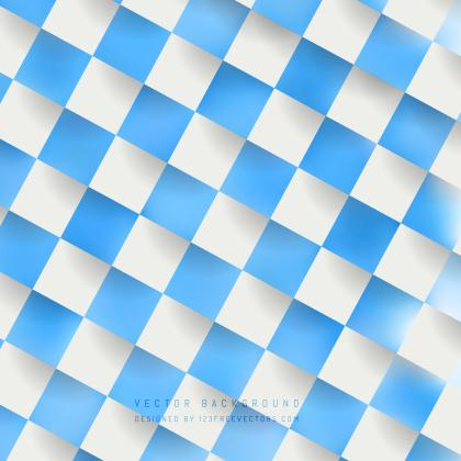 Blue Checkered Pattern Background Image