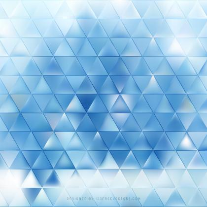 Light Blue Triangle Background Graphics