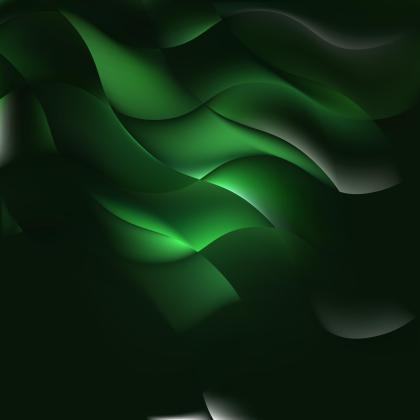 Abstract Dark Green Background Graphics