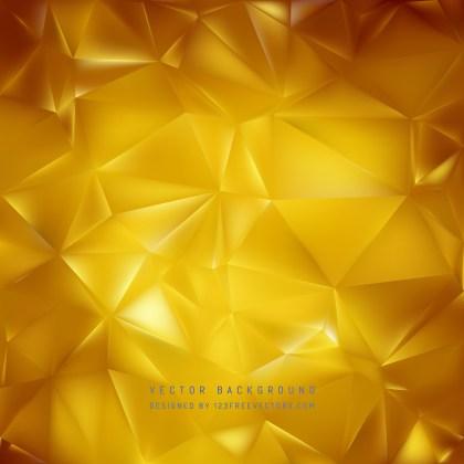 Free Gold Geometric Polygon Background Graphic