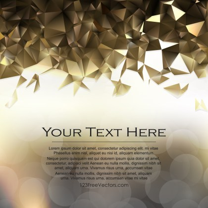 Free Abstract Dark Color Polygonal Background Illustrator